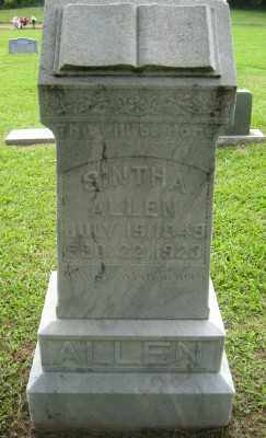 ALLEN, SINTHA ARRILLA - Ashley County, Arkansas | SINTHA ARRILLA ALLEN - Arkansas Gravestone Photos