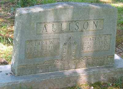 ALLISON, CLARA W - Ashley County, Arkansas | CLARA W ALLISON - Arkansas Gravestone Photos