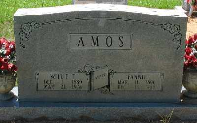 AMOS, WILLIE F. - Ashley County, Arkansas | WILLIE F. AMOS - Arkansas Gravestone Photos