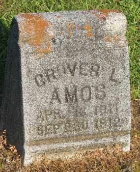 AMOS, GROVER L. - Ashley County, Arkansas | GROVER L. AMOS - Arkansas Gravestone Photos