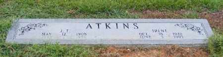 ATKINS, J. T. - Ashley County, Arkansas | J. T. ATKINS - Arkansas Gravestone Photos