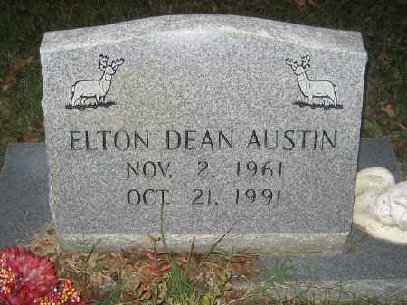 AUSTIN, ELTON DEAN - Ashley County, Arkansas | ELTON DEAN AUSTIN - Arkansas Gravestone Photos