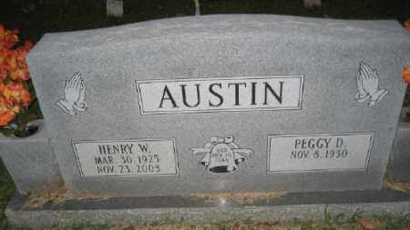 AUSTIN, HENRY W. - Ashley County, Arkansas | HENRY W. AUSTIN - Arkansas Gravestone Photos
