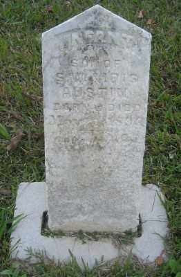 AUSTIN, INFANT SON - Ashley County, Arkansas | INFANT SON AUSTIN - Arkansas Gravestone Photos