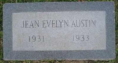 AUSTIN, JEAN EVELYN - Ashley County, Arkansas | JEAN EVELYN AUSTIN - Arkansas Gravestone Photos