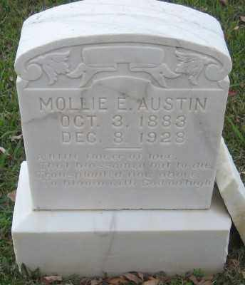 AUSTIN, MOLLIE E. - Ashley County, Arkansas | MOLLIE E. AUSTIN - Arkansas Gravestone Photos