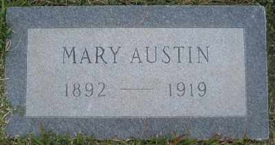 FRANKLIN AUSTIN, MARY - Ashley County, Arkansas | MARY FRANKLIN AUSTIN - Arkansas Gravestone Photos
