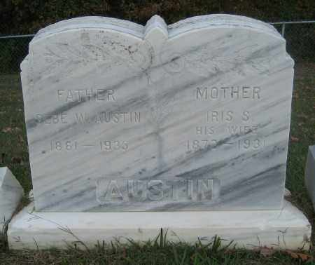 STEWART AUSTIN, IRIS S. - Ashley County, Arkansas | IRIS S. STEWART AUSTIN - Arkansas Gravestone Photos