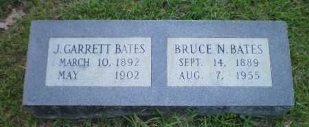 BATES, J GARRETT - Ashley County, Arkansas | J GARRETT BATES - Arkansas Gravestone Photos