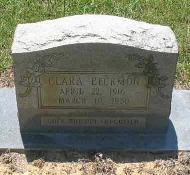 BECKMAN, CLARA - Ashley County, Arkansas | CLARA BECKMAN - Arkansas Gravestone Photos