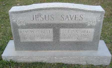 BELL, LOUISA - Ashley County, Arkansas | LOUISA BELL - Arkansas Gravestone Photos