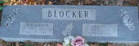 BLOCKER, ALMA LILLIAN - Ashley County, Arkansas | ALMA LILLIAN BLOCKER - Arkansas Gravestone Photos