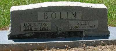 BOLIN, SALLY - Ashley County, Arkansas | SALLY BOLIN - Arkansas Gravestone Photos