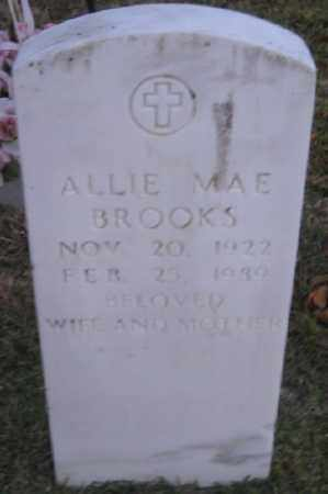 MORRIS BROOKS, ALLIE MAE - Ashley County, Arkansas | ALLIE MAE MORRIS BROOKS - Arkansas Gravestone Photos