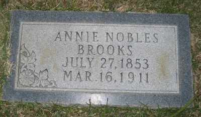 BROOKS, ANNIE - Ashley County, Arkansas | ANNIE BROOKS - Arkansas Gravestone Photos