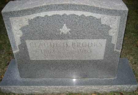 BROOKS, CLAUDE O. - Ashley County, Arkansas | CLAUDE O. BROOKS - Arkansas Gravestone Photos