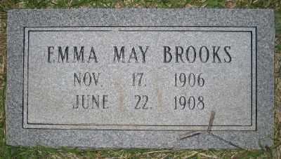 BROOKS, EMMA MAY - Ashley County, Arkansas | EMMA MAY BROOKS - Arkansas Gravestone Photos