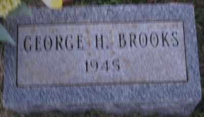 BROOKS, GEORGE H. - Ashley County, Arkansas | GEORGE H. BROOKS - Arkansas Gravestone Photos