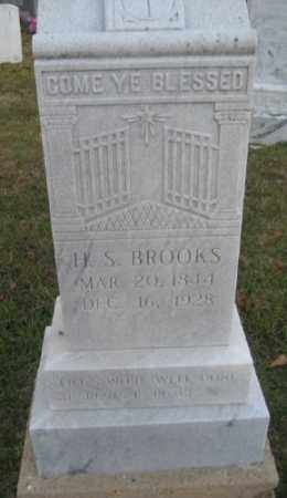 BROOKS, H. S. - Ashley County, Arkansas | H. S. BROOKS - Arkansas Gravestone Photos