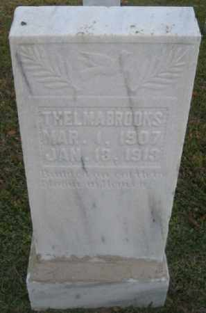 BROOKS, THELMA - Ashley County, Arkansas | THELMA BROOKS - Arkansas Gravestone Photos