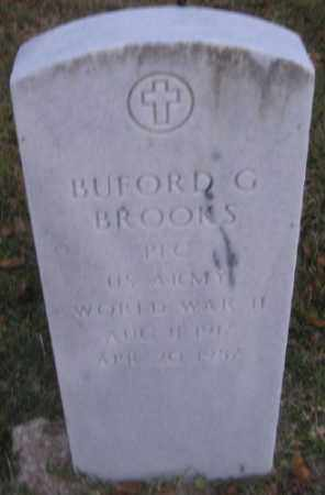 BROOKS (VETERAN WWII), BUFORD G - Ashley County, Arkansas | BUFORD G BROOKS (VETERAN WWII) - Arkansas Gravestone Photos