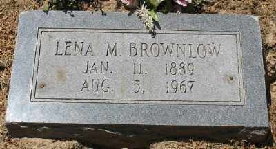 BROWNLOW, EVA LENA - Ashley County, Arkansas | EVA LENA BROWNLOW - Arkansas Gravestone Photos