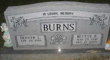 TURNER BURNS, BETTY R. - Ashley County, Arkansas | BETTY R. TURNER BURNS - Arkansas Gravestone Photos