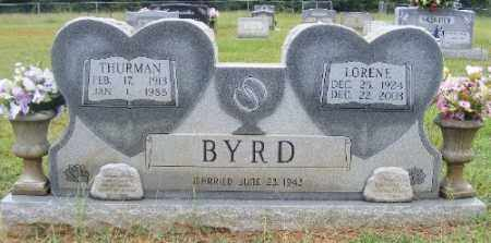 BYRD, LORENE - Ashley County, Arkansas | LORENE BYRD - Arkansas Gravestone Photos