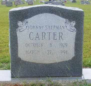 CARTER, JOHNNY SHERMAN - Ashley County, Arkansas | JOHNNY SHERMAN CARTER - Arkansas Gravestone Photos