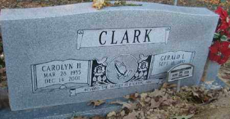 HOWIE CLARK, CAROLYN H. - Ashley County, Arkansas | CAROLYN H. HOWIE CLARK - Arkansas Gravestone Photos