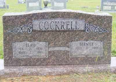 COCKRELL, ELMO - Ashley County, Arkansas | ELMO COCKRELL - Arkansas Gravestone Photos