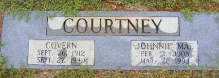 COURTNEY, COVERN - Ashley County, Arkansas | COVERN COURTNEY - Arkansas Gravestone Photos