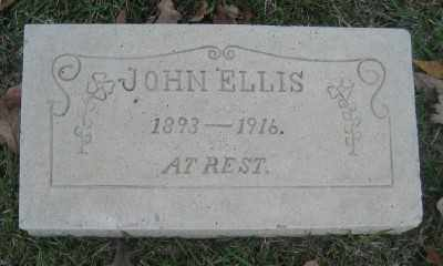 ELLIS, JOHN - Ashley County, Arkansas | JOHN ELLIS - Arkansas Gravestone Photos