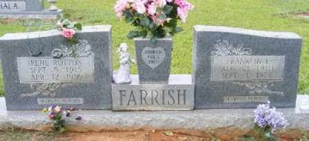 FARRISH, IRENE - Ashley County, Arkansas | IRENE FARRISH - Arkansas Gravestone Photos