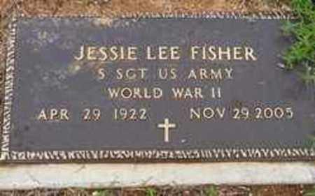 FISHER  (VETERAN WWII), JESSIE LEE - Ashley County, Arkansas | JESSIE LEE FISHER  (VETERAN WWII) - Arkansas Gravestone Photos