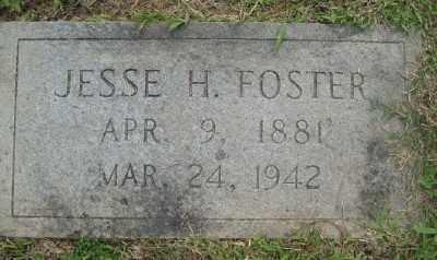 FOSTER (2), JESSE H. - Ashley County, Arkansas | JESSE H. FOSTER (2) - Arkansas Gravestone Photos
