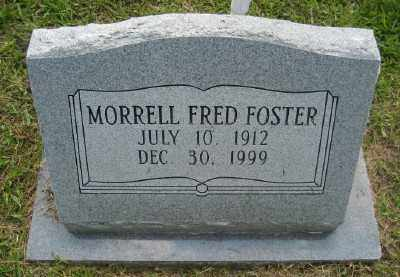 FOSTER, MORRELL FRED - Ashley County, Arkansas | MORRELL FRED FOSTER - Arkansas Gravestone Photos