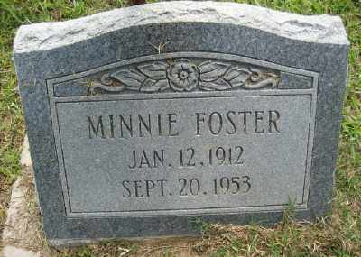 FOSTER, MINNIE - Ashley County, Arkansas | MINNIE FOSTER - Arkansas Gravestone Photos