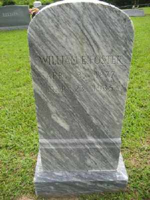 FOSTER, WILLIAM E. - Ashley County, Arkansas | WILLIAM E. FOSTER - Arkansas Gravestone Photos