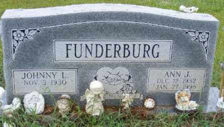 FUNDERBURG, ANN J. - Ashley County, Arkansas | ANN J. FUNDERBURG - Arkansas Gravestone Photos