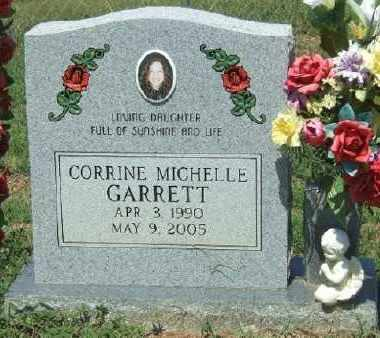 GARRETT, CORRINE MICHELLE - Ashley County, Arkansas | CORRINE MICHELLE GARRETT - Arkansas Gravestone Photos