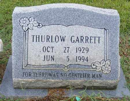 GARRETT, THURLOW - Ashley County, Arkansas | THURLOW GARRETT - Arkansas Gravestone Photos