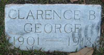 GEORGE, CLARENCE B. - Ashley County, Arkansas | CLARENCE B. GEORGE - Arkansas Gravestone Photos