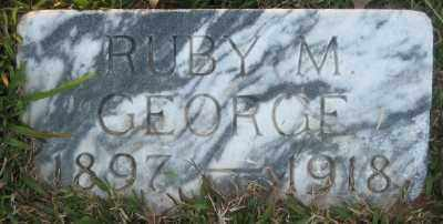 GEORGE, RUBY M. - Ashley County, Arkansas | RUBY M. GEORGE - Arkansas Gravestone Photos