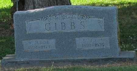 GIBBS, SALLIE H. - Ashley County, Arkansas | SALLIE H. GIBBS - Arkansas Gravestone Photos