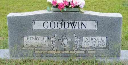 GOODWIN, HENRY H. - Ashley County, Arkansas | HENRY H. GOODWIN - Arkansas Gravestone Photos