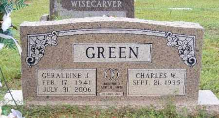 JOHNSON GREEN, GERALDINE J. - Ashley County, Arkansas | GERALDINE J. JOHNSON GREEN - Arkansas Gravestone Photos