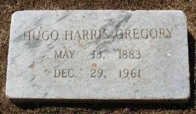GREGORY, HUGO HARRIS - Ashley County, Arkansas | HUGO HARRIS GREGORY - Arkansas Gravestone Photos