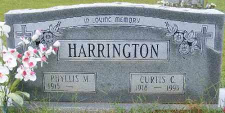 HARRINGTON, CURTIS C. - Ashley County, Arkansas | CURTIS C. HARRINGTON - Arkansas Gravestone Photos