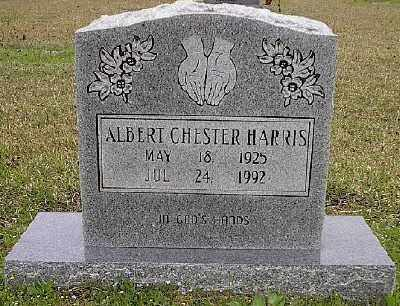 HARRIS, ALBERT CHESTER - Ashley County, Arkansas | ALBERT CHESTER HARRIS - Arkansas Gravestone Photos